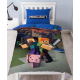 Official Minecraft Reversible Single Duvet Bedding Set