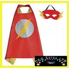 DC Comics 'Flash' Themed Dress Up Cape And Mask Set
