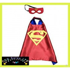 DC Comics 'Superman' Themed Dress Up Cape And Mask Set