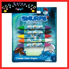 Official Smurfs Double Ended Crayons