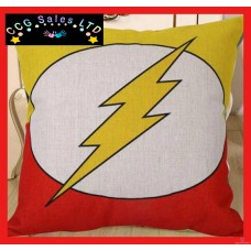 DC Comics 'Flash' Large Canvas Cushion
