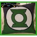 DC Comics 'Green Lantern' Large Canvas Cushion