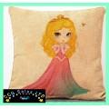 Sleeping Beauty 'Aurora' Large Canvas Cushion
