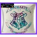 Harry Potter 'Hogwarts Crest' Large Canvas Cushion