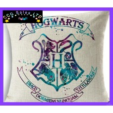 Harry Potter 'Hogwarts Crest' Large Canvas Cushion