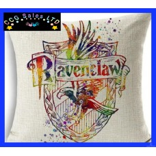 Harry Potter 'Ravenclaw' Large Canvas Cushion