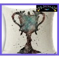 Harry Potter 'Tri-wizard Cup' Large Canvas Cushion