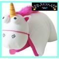 Official Despicable Me 'Unicorn' 3D Plush 'Fluffy' Cushion