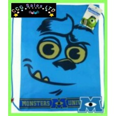 Official Disney Pixar Monsters University Drawstring Gym Swim PE Bag
