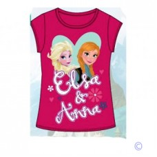 Official Disney Frozen Elsa And Anna Summer Top