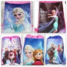 Disney Frozen Themed Drawstring Bag
