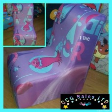 Dreamworks Trolls Character Themed Gaming Style Chair