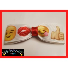 Handmade 'Emoji' Hairclip Hair Accessory