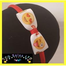 Handmade 'Emoji' Headband Hair Accessory