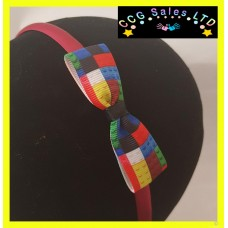 Handmade 'Lego' Headband Hair Accessory