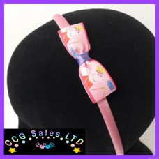 Handmade 'Peppa Pig' Headband Hair Accessory