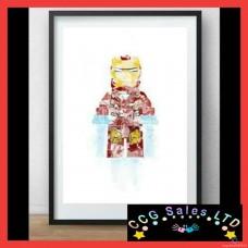 Hand Designed Superhero/Supervillian Themed Artwork