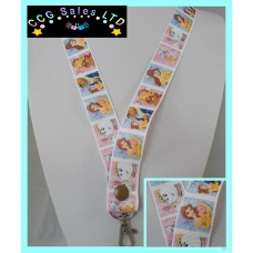 Handmade Disney 'Beauty And The Beast' Lanyard