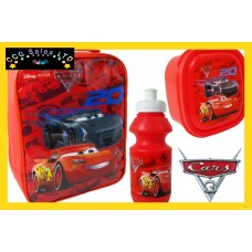 Official Disney Cars 3 3pc Lunch Bag