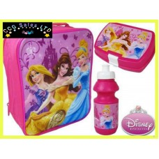 Official Disney Princess 3pc Lunch Bag