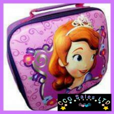 Official Disney Sofia The First 3D Lunch Bag