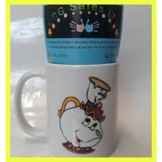 Personalised Beauty And The Beast Mug