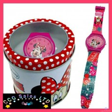 Official Disney Minnie Mouse Watch In A Box