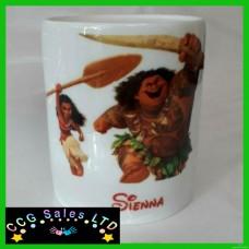 Personalised Disney Moana Custom Made Ceramic Money Box