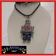 Handmade Guardians Of The Galaxy 'Drax' Themed Mini Fig Toy Necklace