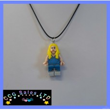 Handmade Game Of Thrones 'Daenerys Targaryen' Mini Fig Toy Necklace