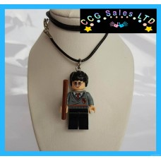 Handmade Harry Potter 'Harry' Themed Mini Fig Toy Necklace