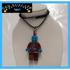 Handmade Guardians Of The Galaxy 'Yondu' Themed Mini Fig Toy Necklace