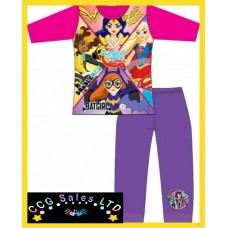 Official DC Superhero Girls Long Pyjamas