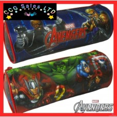Official Marvel Avengers Barrel Pencil Case