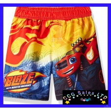 Official Blaze And The Monster Machines Swim Shorts