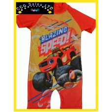 Official Blaze And The Monster Machines Surf Swimming Suit