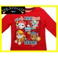 Official Paw Patrol 'Pawfect' Long Sleeve Top