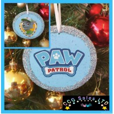 Hand Designed Wooden Paw Patrol Themed Decoration